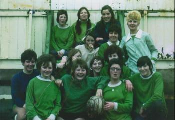 Courtaulds women's football team, 1968-9