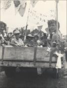 Fairweather Works float in Ponthenri Carnival